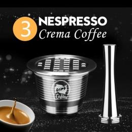 ICafilas ze stali nierdzewnej wielokrotnego użytku Nespresso kapsułki z prasy młynki do kawy ze stali nierdzewnej sabotaż kawiar