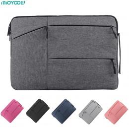 Na laptopa torba na MacBooka Air Pro Retina 11 12 13 14 15 15.6 cal pokrowiec na laptopa tablet przypadku etui na Xiaomi powietr