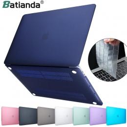 Nowy matowy matowy matowy skrzynki pokrywa dla MacBook Air 11 air 13 cal A1466 A1932 Pro 13 15 retina A1706 A1708 A1989