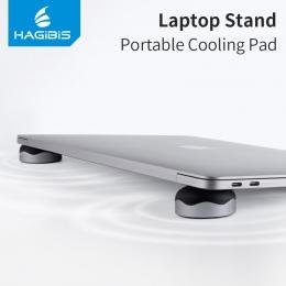 Hagibis podstawka do laptopa magnetyczny przenośny podkładka chłodząca do laptopa MacBook fajne piłka rozpraszanie ciepła Skidpr