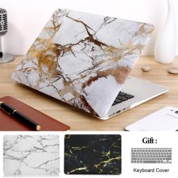 Marmur na laptopa etui na Macbooka Air 13 A1466 Pro Retina 11 12 13 15 pasek dotykowy powłoki, dla, mac, książka, nowy powietrza