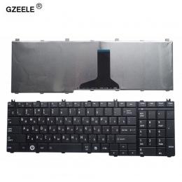 GZEELE rosyjski laptop klawiatura do Toshiba z dostępem do kanałów satelitarnych C650 C655 C660 C670 L675 L750 L755 L670 L650 L6