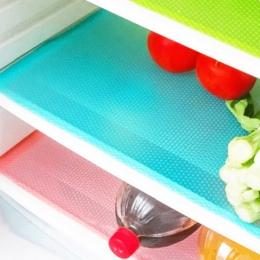 4 sztuk/zestaw moda lodówka Pad antybakteryjne przeciwporostowe pleśni absorpcja wilgoci Pad lodówka wodoodporne maty