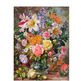 BAISITE DIY oprawione obraz olejny numerów kwiaty zdjęcia na płótnie malarstwo ścienne do salonu ozdoby do dekoracji wnętrz Y506