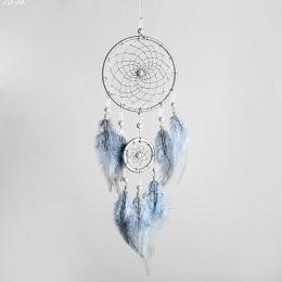 Proste Dream Catcher patrząc na rozgwieżdżonym niebem Indian Feather Dreamcatcher wiszące akcesoria ładne literackie prezent