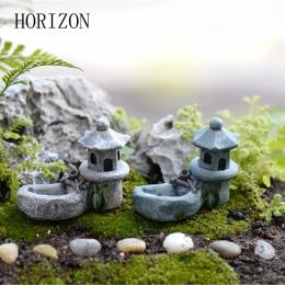 1 sztuk w stylu Vintage sztuczny basen wieża miniaturowy dom bajki ogród dekoracji domu Mini Craft mikro krajobrazu wystrój domu