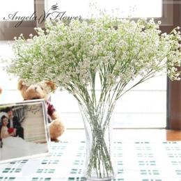 1 sztuk 58 cm rustykalne sztuczne kwiat interspersion mantianxing decor dla domu stół ślub kwiat z tworzywa sztucznego Gypsophil