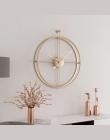 55 cm duży cichy zegar ścienny nowoczesny Design zegary na wystrój domu biuro europejski styl wiszące zegary ścienne zegary