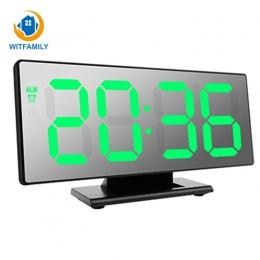 Elektroniczny zegarek tabeli temperatury wyświetlacz wielofunkcyjny drzemki nocne duży numer wyświetlacz LED pulpit budziki Desp