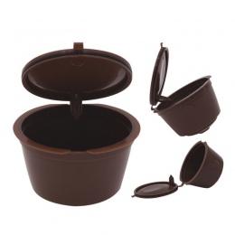 1/2/3 sztuk używać 150 razy kapsułka kawy Dolce Gusto plastikowe kapsułki wielokrotnego użytku wielokrotnego użytku kompatybiln