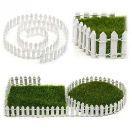 Nowy 100*5 cm DIY Mini małe ogrodzenie drewniany miniaturowy bajkowy ogród Terrarium lalka oddział Palings prezentacja dekoracji