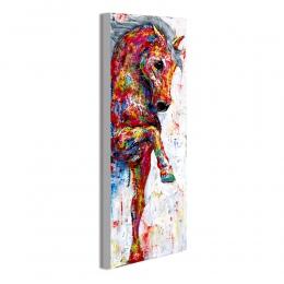 Artisan Wall Art malarstwo obraz na płótnie zwierząt drukuj chodzenie konia do salonu wystrój domu bez ramki
