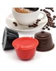 3 sztuk/zestaw wielokrotnego napełniania kapsułka kawy dolce Gusto nescafe dolce gusto wielokrotnego użytku kapsułka gusto kaps