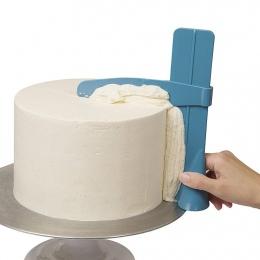 Ciasto skrobak płynniejsze korzystanie z regulowany kremówki szpatułki ciasto krawędź gładka krem dekorowanie DIY pieczenia zast
