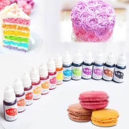 Jadalny Pigment 10 ML Macaron krem barwnik spożywczy składniki ciasto kremówka pieczenia ciasto jadalne Pigment kolorowy do piec