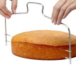Hoomall 1 PC regulowany drut ze stali nierdzewnej ciasto krajalnica niwelator DIY ciasto do pieczenia narzędzia wysokiej jakości
