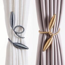 Dowolny kształt silne kurtyna chwost pluszowe ze stopu wiszące pasy liny kurtyny Holdback Karnisze akcesoria