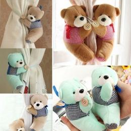 3 kolory Cartoon niedźwiedź kurtyny uchwyt przedszkole sypialnia kurtyna klamra krawat z hakiem zapięcie klamra zacisk 1 pc