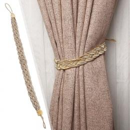 Pleciony kurtyny wiązanej liny pasek pasek dekoracyjne smycz wiszące wiązania bandaż