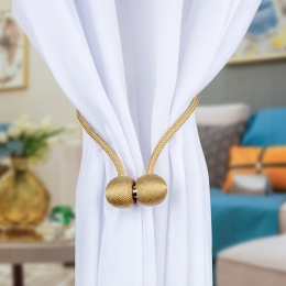 Nowoczesne proste Tie powrót magnesy na zasłony klamry kurtyny magnetyczny uchwyt kurtyny pasek akcesoria dekoracyjne
