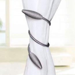 Kurtyna chwost proste nowoczesne zasłony liny pasek Free Style kurtyna klip sypialnia salon kreatywny kurtyna klamra 8A1057