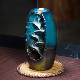 Cofaniu kadzidła palnika ceramiczne aromaterapia piec zapach aromatyczny biuro w domu kadzidło drogi rzemiosło wieża uchwyt kadz