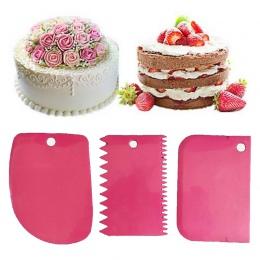 Urijk 3 sztuk/zestaw ciasto krajalnica do ciasta ciasto krajalnica do pieczenia o konsystencji Pasty narzędzia skrobak ciasto os
