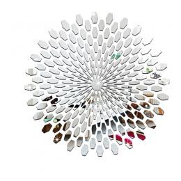 Akrylowe kwadratowe dekoracyjne lustro naklejki ścienne dla środowiska wysokiej jakości łazienka salon sypialnia dekoracyjne lus