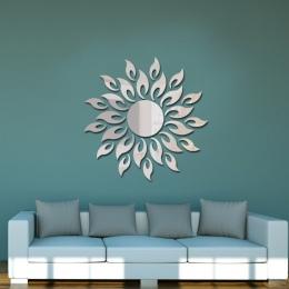 27 sztuk akrylowe DIY dekoracyjne lustro naklejki ścienne przyjazne dla środowiska wysokiej jakości salon sypialnia dekoracyjne
