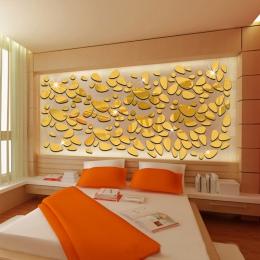 Akrylowe DIY tło dekoracyjne lustro ścienne naklejki ścienne dla środowiska wysokiej jakości salon sypialnia dekoracyjne lustro
