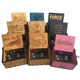 Piraci z karaibów Music Box gra o tron harry potter muzyki pudełka ręcznie drewniane instrumenty muzyczne pudełka na prezent Caj