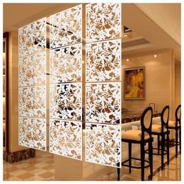 Dla domu mody 4 sztuk motyl ptak kwiat wiszące ekran partycji Panel przegród zasłony pokojowe domu biały/czarny/czerwony