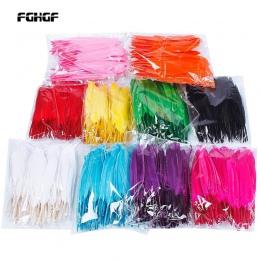 Nie kolorowe, ale 10 kolorów do wyboru Hot dość 100 sztuk/paczka piękny wystrój domu z gęsiego pierza 4-6 cali 10-15 cm