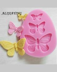1 sztuk Sugarcraft Butterfly silikonowe formy kremówka mold ciasto dekorowanie narzędzia formy czekoladowe dekoracje ślubne form