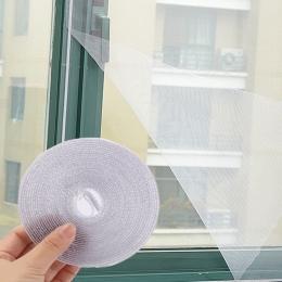 Ekran owadów tkaniny sieciowej okna zestaw Fly Bug osy moskitiera siatki netto pokrywa okna owadów netto i taśma dropshipping