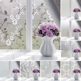 Wodoodporny pcv matowe szkło okno taśma ograniczająca widoczność monitora naklejki sypialnia łazienka samoprzylepne Film Home fo