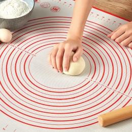 Mata silikonowa do pieczenia pizzy maszyna do wyrabiania ciasta ciasto gadżety kuchenne narzędzia kuchenne naczynia do pieczenia