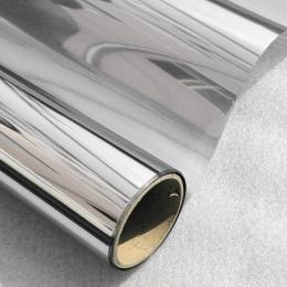 40/50/60 cm x 400 cm w jedną stronę lustrzane folia okienna słoneczna szkło refleksyjne naklejki srebrny warstwa odcień pokój bu