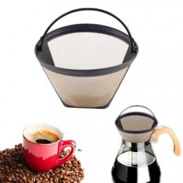 Akcesoria do ekspresów do kawy ze stali nierdzewnej łatwy w czyszczeniu się do prania, wielokrotnego użytku, w kształcie stożka