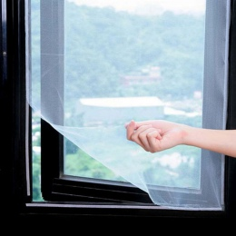 5 M anty okno na komary netto Mesh zasłony netto kurtyny Protector ekran latać wstawka błąd DIY wymienny zmywalny okno ekran
