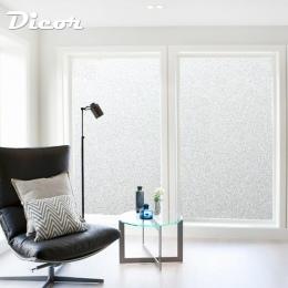 200 CM * 45/60/90 matowa folia okienna bez kleju samoprzylepne winylu statyczne czepiać prywatności szklane drzwi naklejki łazie