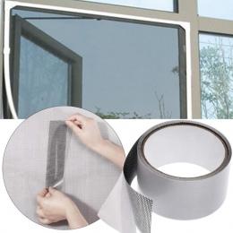 Taśma naprawcza Fly moskitiera do drzwi środek odstraszający owady taśma naprawcza wodoodporna moskitiery pokrywa taśma naprawcz