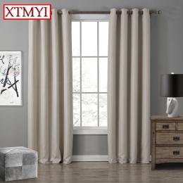 Nowoczesne Blackout zasłony do salonu okna zasłony do sypialni gotowe tkaniny zasłony rolety dostosowane