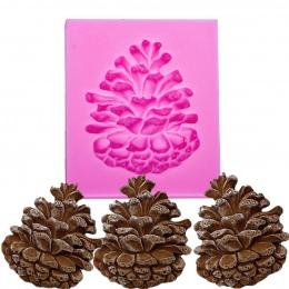 Orzechy sosnowe w kształcie 3D ciasto kremówki silikonowe formy do polimeru gliny formy czekoladowe ciasto cukierki podejmowania