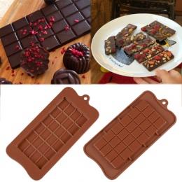 Foremki do czekoladek do pieczenia ciasto formy wysokiej jakości kwadrat ekologiczne silikonowe silikonowe formy DIY 1 PC food g
