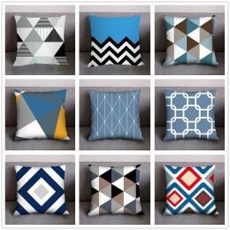 2019 nowoczesne proste dekoracyjne poszewki na poduszki nowy drukuj poszewki na poduszki poliester pokrywa strona główna tekstyl