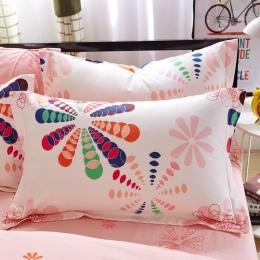 1 sztuka 480*740mm 7 kolory Floral poszewka na poduszkę pokrywa 100% poliester zwykły dzianiny poszewka na poduszkę dla dzieci d