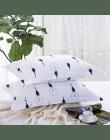 1 sztuka biały kolor tkaniny poszewka na poduszkę żarówka wydruku poszewka na poduszkę okładka 48 cm * 74 cm dziecko dorosłych u