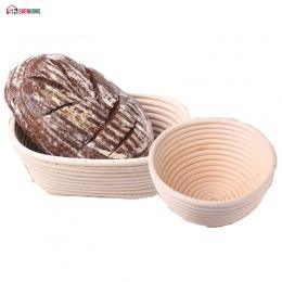 SHENHONG różne kształty fermentacji kosz rattanowy kraju chleb bagietka ciasto Banneton Brotform Proofing udowodnienie kosze
