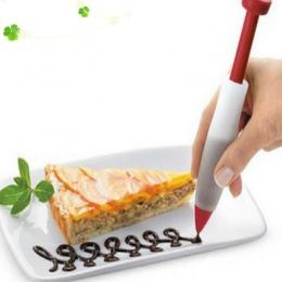 1 sztuk ciasto krem czekoladowe dekorowanie strzykawka płyta silikonowa marker z farbą ciasto Cookie lody dekorowanie długopisy